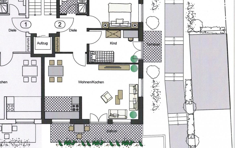 6 familienhaus sonne und ruhe wohnen am eselsbach neubau etw s w rzburg versbach. Black Bedroom Furniture Sets. Home Design Ideas